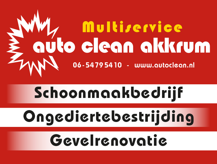 Auto-Clean Akkrum